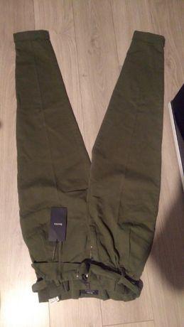 Spodnie Bershka paperbag nowe wysoki stan 32/34