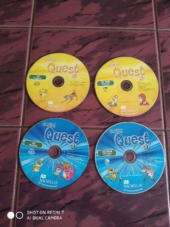 Płyty CD-dla dzieci English Quest