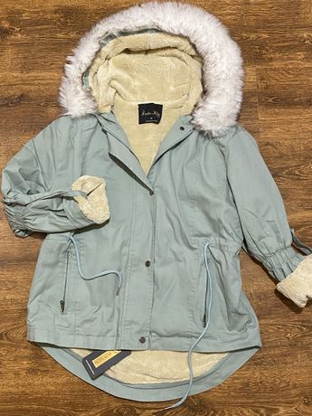 НОВАЯ Куртка женская осенняя парка демисезон S M L XL XXL