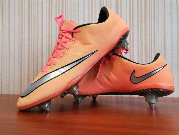 Футбольные бутсы Nike Mercurial Vapor acc pro orang 42,5р.