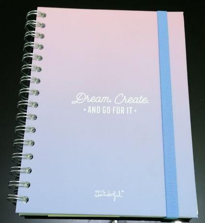 Agenda/ caderno planificador Mr Wonderful