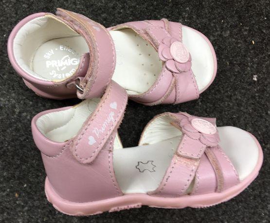PRIMIGI R.20 skórzane sandały, półbuty, sandałki- stan bdb-J. Superfit