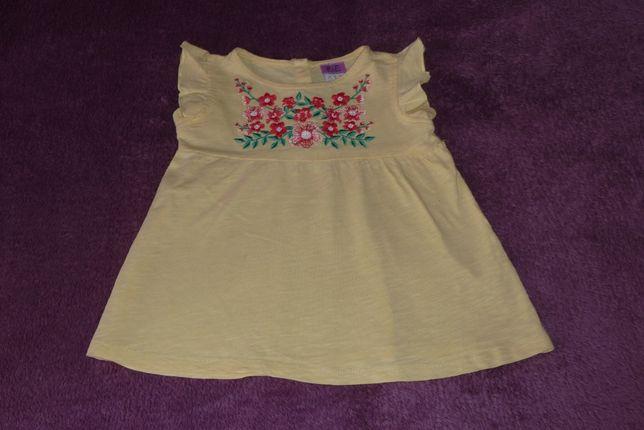 Bluza, bluzeczka - dla dziewczynki - rozmiar 92