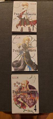 Manga Pandora Hearts  1-5