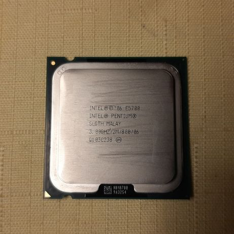Procesor Intel Pentium E5700 LGA775 + wentylator