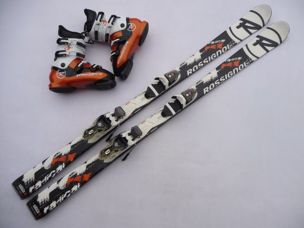 Komplet narciarski - narty Rossignol 150 cm + buty Rossignol 41 eu