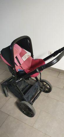 Carrinho de bebé, incluindo a cadeira tipo ovo