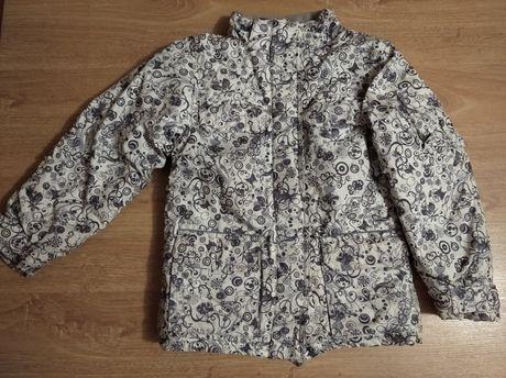 Зимняя очень теплая куртка на рост 128-134