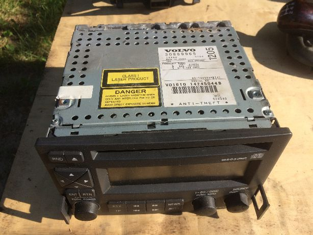 Volvo S40 V40 radio nawigacja oryginał HU 1205 bdb stan + KOD
