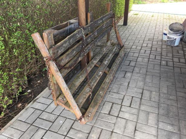 Ławka do od huśtawki ogrodowej huśtawka ogrodowa