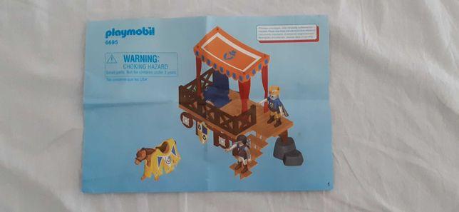 Playmobil 6695 novo sem caixa