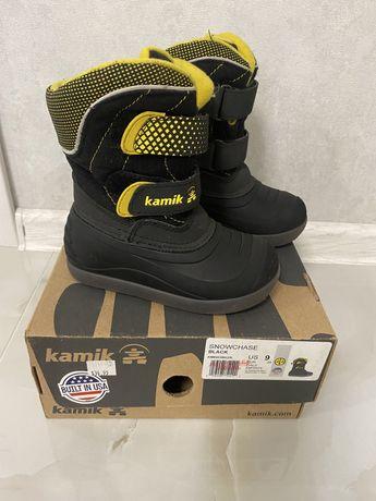 Kamik ботинки зимние 9 размер стелька 16,5