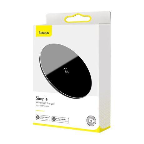 Ładowarka indukcyjna bezprzewodowa Baseus Simple Qi Fast Charge 10W