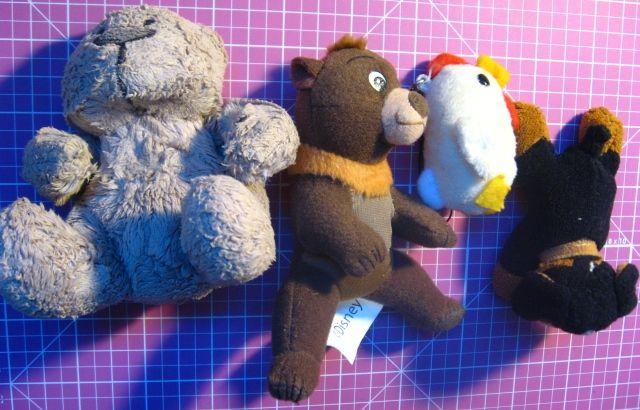 мягкая игрушка мышь, утка, мишка, дельфин, ослик, цыплёнок