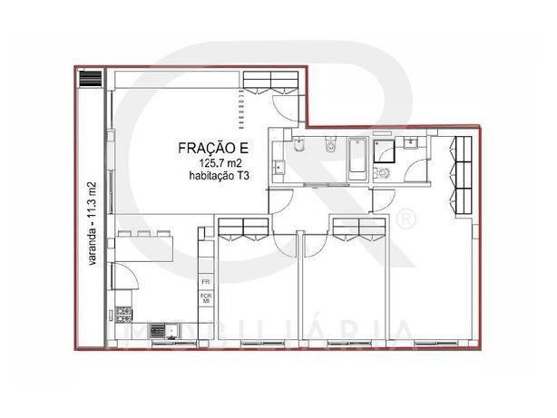 Apartamentos T3 Novos Com Áreas Grandes