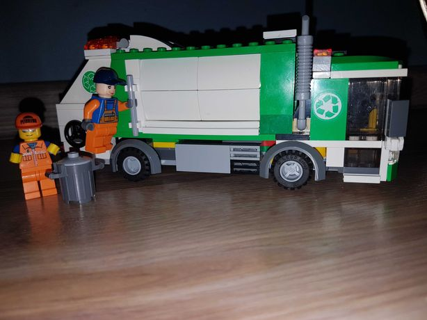 Unikat!!! Lego śmieciarka 4432