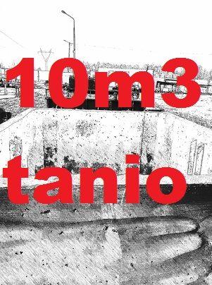 Zbiornik na gnojówkę gnojowice gnoj szambo odchody betonowe 11000 l