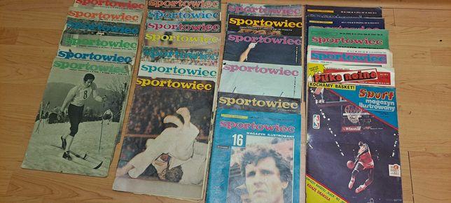 Magazyn ilustrowany sportowiec.piłka nożna
