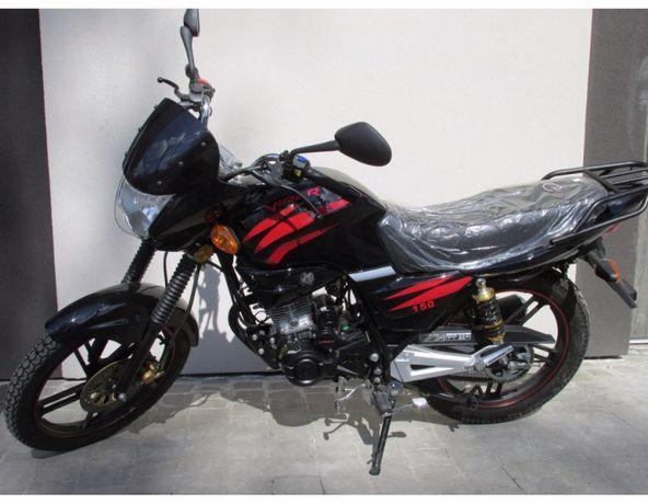 Мотоцикл Вайпер Скутер Мопед VIPER V150А Баланс Чёрный Наложка Новый!