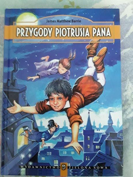 Przygody Piotrusia Pana Książka