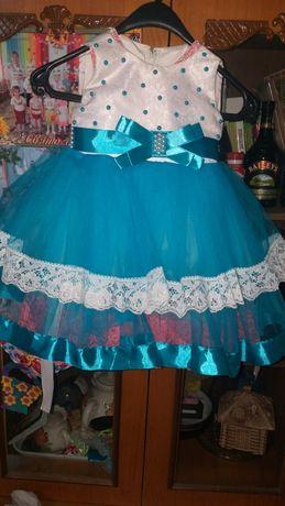 Пышное платье 2 3 года