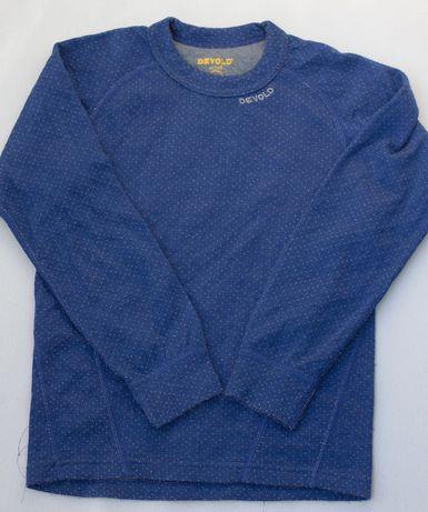 koszulka firmy DEVOLD wełna merynosa , merino r. 134