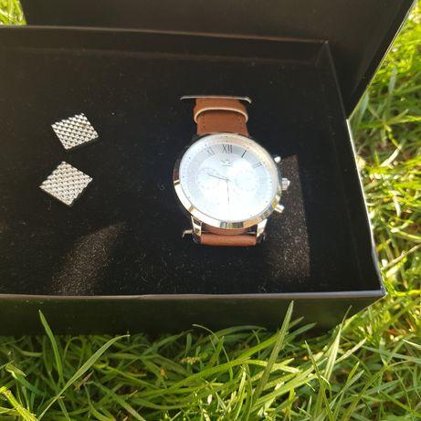 Zegarek + spinki do koszuli idealne na prezent