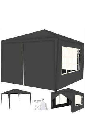 Altanka ogrodowa namiot 3x3 + 4 ścianki