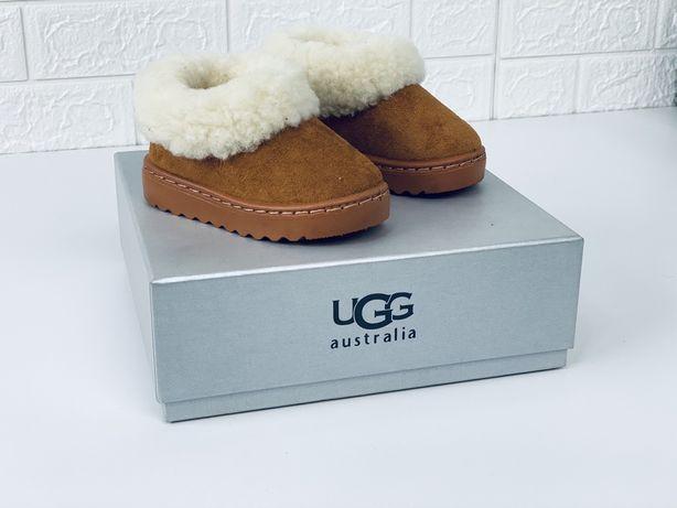 Детские угги ugg mini теплейшие ботиночки ботинки шерсть дитячі уггі