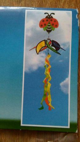 Wiatraczek dekoracja wiszaca biedroneczka Lidl