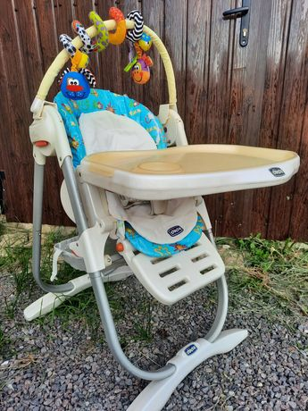 Стульчик для кормления Chicco polly magik 3 в 1 стілець для годування