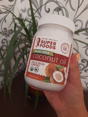Dr. Murrays, органическое кокосовое масло первого отжима