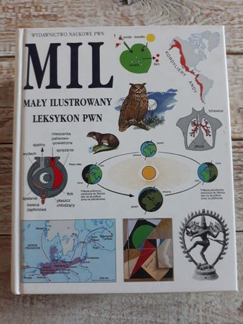 Mały ilustrowany leksykon PWN. 1400 stron