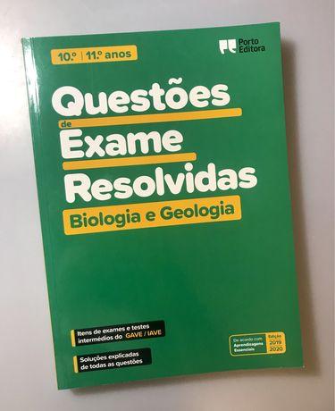 Questões de Exame Resolvidas Biologia e Geologia- 10º e 11º Ano Novo