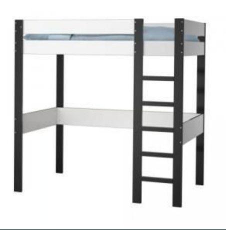 Cama alta de solteiro Ikea Mörrum