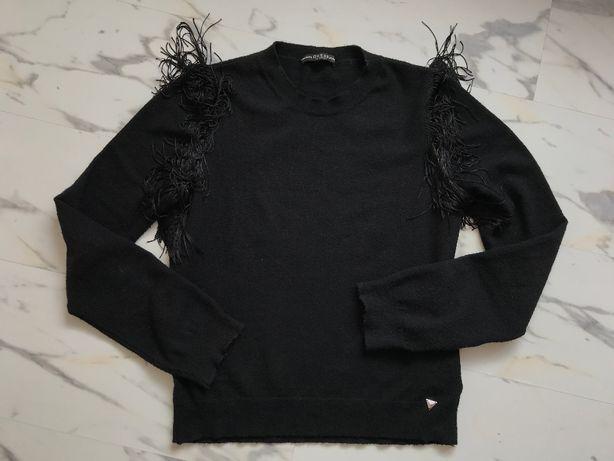 oryginalny czarny sweter Guess XS S
