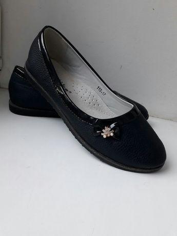 Туфли/ школьные классические туфли стелька 22 см/ балетки