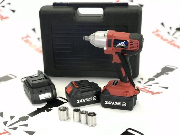 Аккумуляторный ударный гайковерт MAX POLAND MXIWCD24V