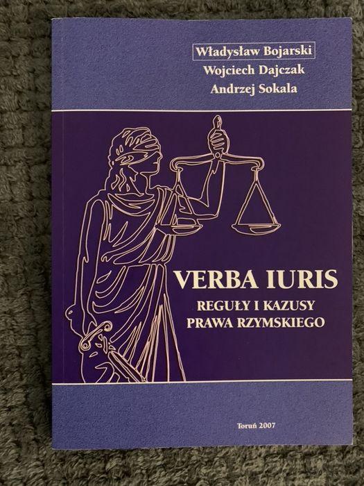 Verba Iuris reguły i kazusy prawa rzymskiego Szczecin - image 1