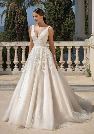 suknia ślubna justin alexander 88100