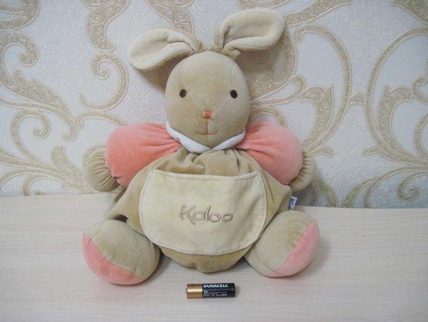 Фирменная мягкая игрушка  Зайка Kaloo