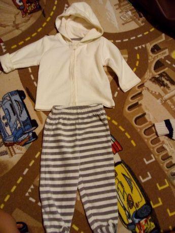 Polarowy komplet dres dla dzieci 74 cool club