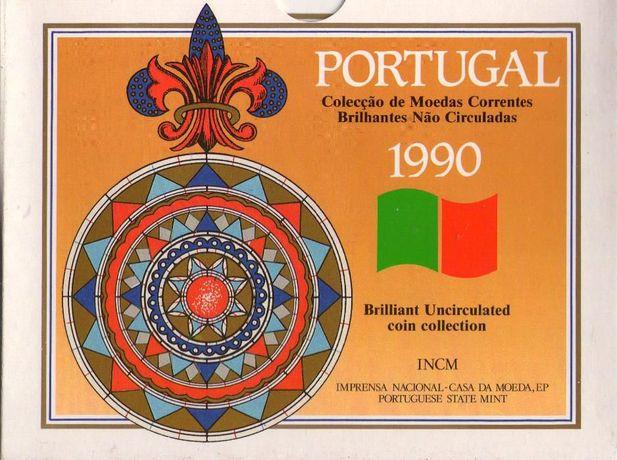 Carteira de ESCUDOS Portugal 1990 BNC