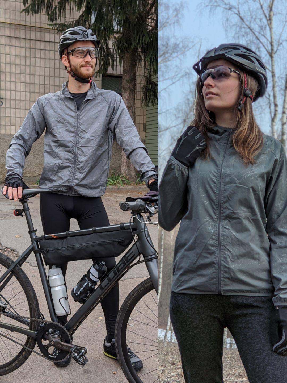 Суперлегкая веловетровка,мужская и женск. ветровка для бега,велокуртка