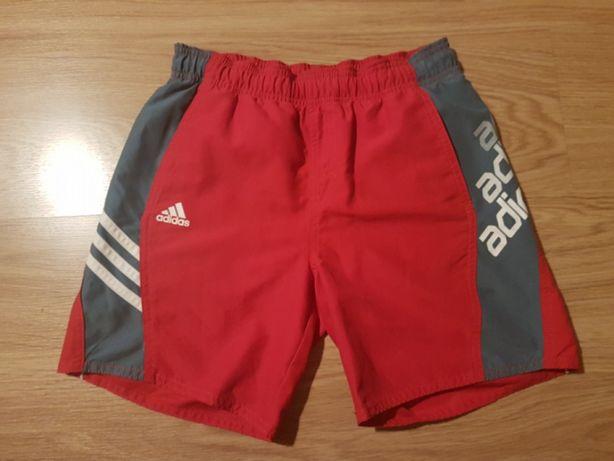 OFERTA PORTES - Calções de Banho Vermelhos da Adidas (10Anos)
