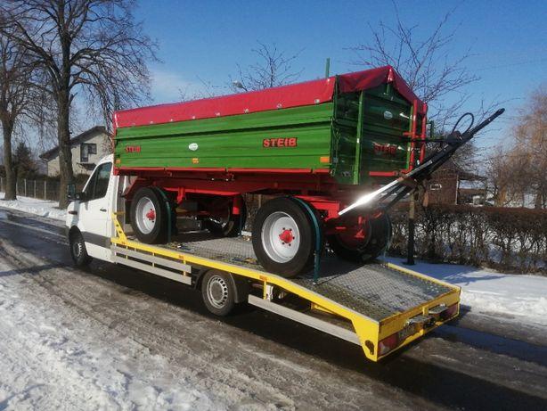 "Auto-laweta ""Maxim-Trans""- Pomoc Drogowa -Transport maszyn-Tanio"