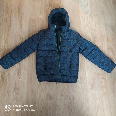 Zimowa kurtka chłopięca z C&A r. 146