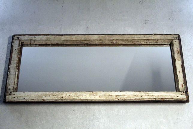 Lustro Loft, Rustykal, Rama okna