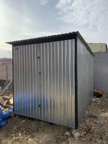 Garaż blaszany schowek 2 x 3 budowlany