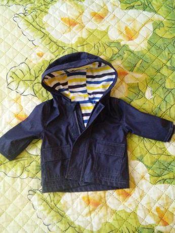 Курточка, ветровка, дождевик F&F на мальчика 3-7 месяцев